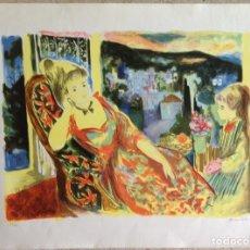 Arte: EMILI GRAU SALA (BARCELONA, 1911- PARÍS, 1975) LITOGRAFÍA ORIGINAL FIRMADA A LÁPIZ. Lote 127859551