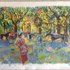 Arte: EMILI GRAU SALA (BARCELONA, 1911- PARÍS, 1975) LITOGRAFÍA ORIGINAL FIRMADA A LÁPIZ. Lote 127859699