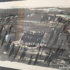Arte: JUAN GENOVÉS. SERIGRAFÍA FIRMADA Y NUMERADA A MANO. ENMARCADA. CON CERTIFICADO DE LA GALERÍA. Lote 129619831