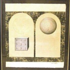 Arte: JOSEP MARIA SUBIRACHS - FIRMADA,NUMERADA PROTEGIDA Y ENMARCADA. Lote 129705599