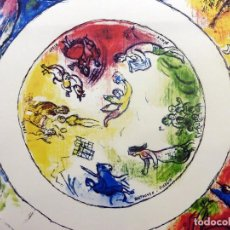 Arte: MARC CHAGALL LITOGRAFÍA - OPERA CEILING PARÍS. Lote 129965367