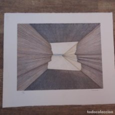 Arte: LITOGRAFÍA JOSEP SUBIRACHS.50/90. Lote 130010079