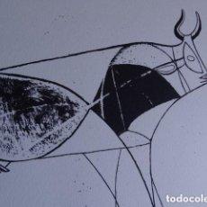 Arte: LITOGRAFIA DE PABLO PICASSO, 1986 - LIQUIDACIÓN !. Lote 130065423