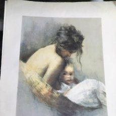 Arte: MATERNIDAD POR CAYETANO DE ARQUER BUIGAS (SARDAÑOLA DEL VALLÉS, BARCELONA 1932-2012). Lote 130249382