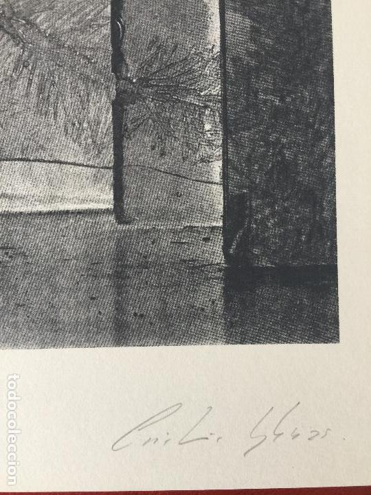 Arte: CRISTINA IGLESIAS , SERIGRAFIA ORIGINAL DEL AÑO 1995 - Foto 3 - 288007758