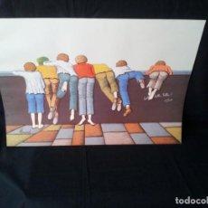 Arte: RENE PINARD - HERMOSA LITOGRAFÍA ORIGINAL A COLOR - BELLO. Lote 130759056