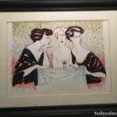 Arte: BEBEDOURAS POR JUAREZ MACHADO (JOINVILLE, SANTA CATALINA, BRASIL 1943) P/A. Lote 130879844