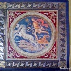 Arte: BONITA LITOGRAFIA DE APLLO, PALAZZO DEL PRIORI - POR PIETRO CANNUCCI PERUGINO.1994.TAMAÑO 37X37 CMS. Lote 130940056