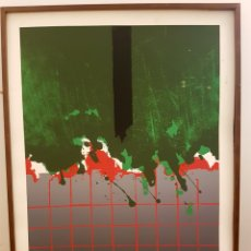 Arte: CESAR LÓPEZ OSORNIO, 1930, LITOGRAFIA ORIGINAL, FIRMADA Y NUMERADA. 69X49CM. Lote 131100984