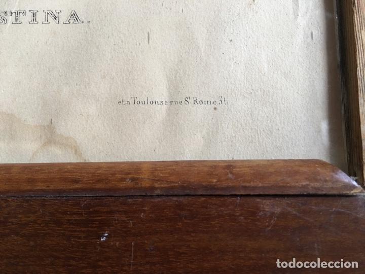 Arte: Litografía retrato de La Celestina - Firma de autor Turgis - Toulouse Rome-Fernando de Rojas abanico - Foto 5 - 131287022
