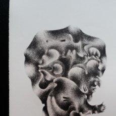 Arte: GOTTFRIED HEUER, LITOGRAFÍA FIRMADA Y NUMERADA, 1967. Lote 131288247
