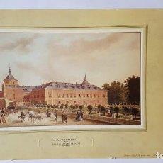 Arte: FERNANDO BRAMBILLA-PALACIO REAL DE ARANJUEZ MADRID, 1842 MADRID-SELLO PATRIMONIO NACIONAL 1976. Lote 131300143