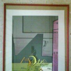 Arte: OBRA DE GENOVART : FIRMADA Y NUMERADA A MANO /ENMARCADA. Lote 131690770