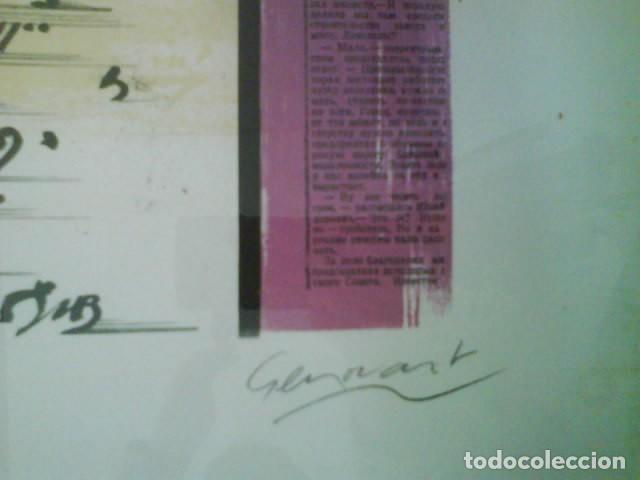 Arte: OBRA DE GENOVART : FIRMADA Y NUMERADA A MANO /ENMARCADA - Foto 3 - 131690770