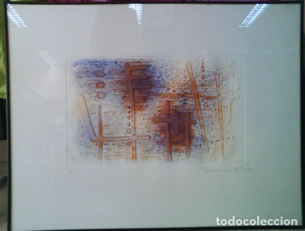 Arte: LITOGRAFÍA DE FRANÇESC GUITART -FIRMADA Y NUMERADA - ENMARCADA - Foto 2 - 131691854