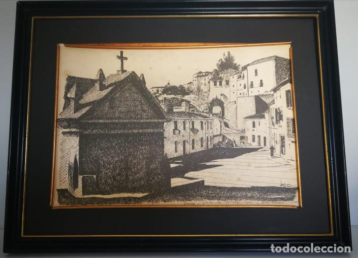 Arte: LOTE DE 6 GRABADOS MIJAS, RONDA, CORDOBA, MARBELLA - FIRMADOS DOS AUTORES - Foto 2 - 131706354