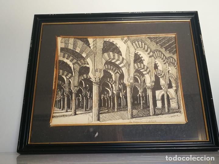 Arte: LOTE DE 6 GRABADOS MIJAS, RONDA, CORDOBA, MARBELLA - FIRMADOS DOS AUTORES - Foto 3 - 131706354