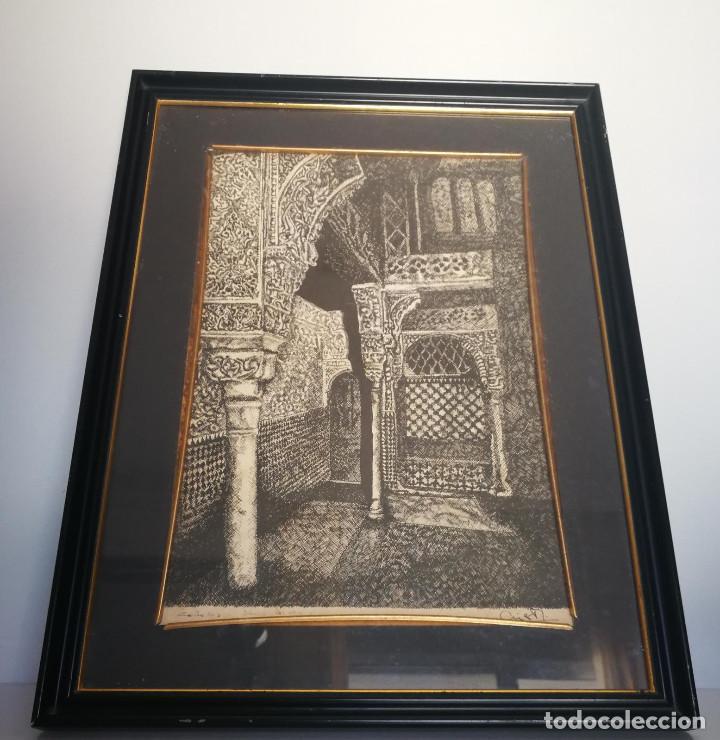 Arte: LOTE DE 6 GRABADOS MIJAS, RONDA, CORDOBA, MARBELLA - FIRMADOS DOS AUTORES - Foto 5 - 131706354