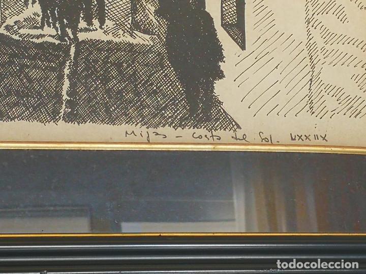 Arte: LOTE DE 6 GRABADOS MIJAS, RONDA, CORDOBA, MARBELLA - FIRMADOS DOS AUTORES - Foto 9 - 131706354