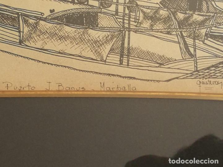 Arte: LOTE DE 6 GRABADOS MIJAS, RONDA, CORDOBA, MARBELLA - FIRMADOS DOS AUTORES - Foto 13 - 131706354