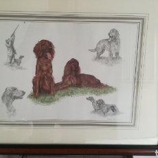 Arte: PRECIOSO CUADRO DE NIGEL HEMMING. Lote 132283226
