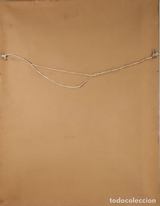 Arte: LITOGRAFÍA. CARTEL DE LA EXPOSICION DE VICTOR MIRA. GALERIA JOAN PRATS. 1985. - Foto 2 - 132286086