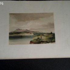 Arte: LITOGRAFÍA DE SAN JUAN DE LUZ Y SOCOA (VIVIAN). LÁMINAS DE GUIPUZCOA Y PAIS VASCO.. Lote 133555210