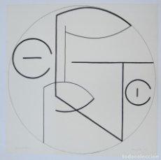 Arte: MARY CALLERY (1903, NEW YORK - 1977, PARIS), LITOGRAFÍA, 1973, PRUEBA DE ARTISTA. 50X50CM. Lote 133806994