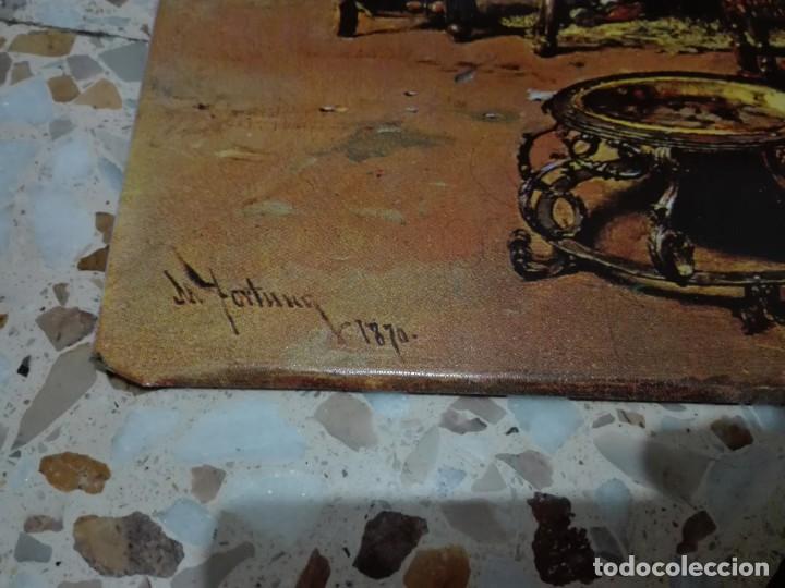 Arte: Plancha litografiada de La vicaría de M.Fortuny - Foto 2 - 134406750