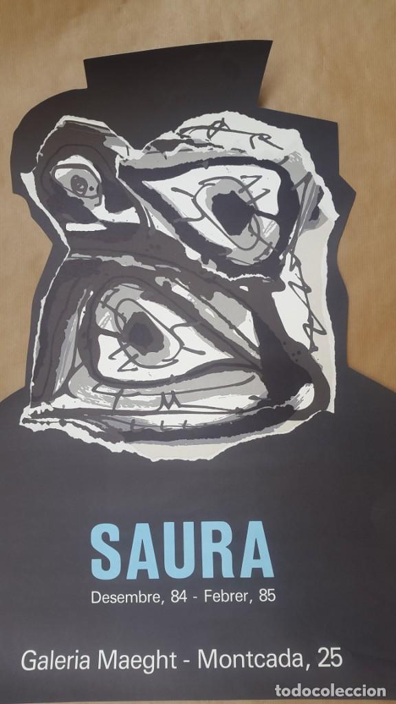 SAURA - 1984 - GALERIA MAEGHT - CARTEL LITOGRÁFICO (Arte - Litografías)