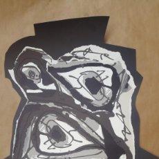 Arte: SAURA - 1984 - GALERIA MAEGHT - CARTEL LITOGRÁFICO. Lote 135018838