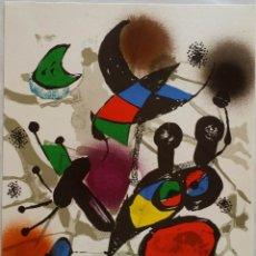 Arte: JOAN MIRÓ: LITOGRAFIA ORIGINAL II / POLÍGRAFA, 1977 / MOURLOT 1114. Lote 52965501