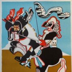 Arte: SIMON DITTRICH, LITOGRAFÍA, 1972. Lote 135670567