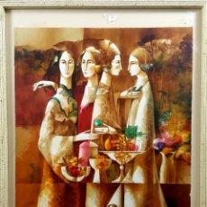 Arte: JOSEP BAQUES LITOGRAFÍA. Lote 135675657
