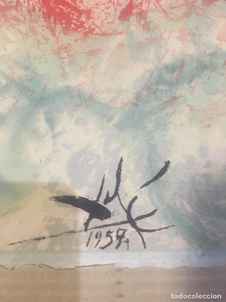 Arte: Salvador Dali - antigua litografía original 1957 firmada en plancha Madonna , comprada en la sala - Foto 3 - 135920014