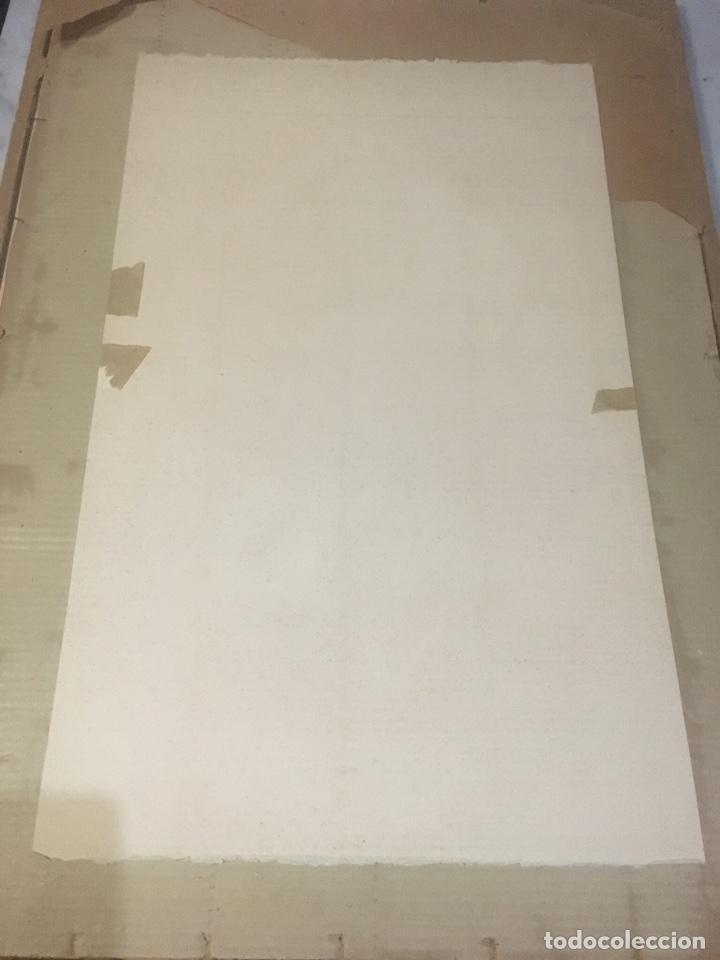 Arte: Salvador Dali - antigua litografía original 1957 firmada en plancha Madonna , comprada en la sala - Foto 6 - 135920014
