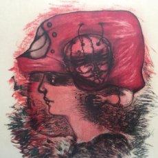 Arte: MODEST CUIXART BUENA LITOGRAFIA BIEN ENMARCADA FIRMADA Y NUMERADA . Lote 136107134