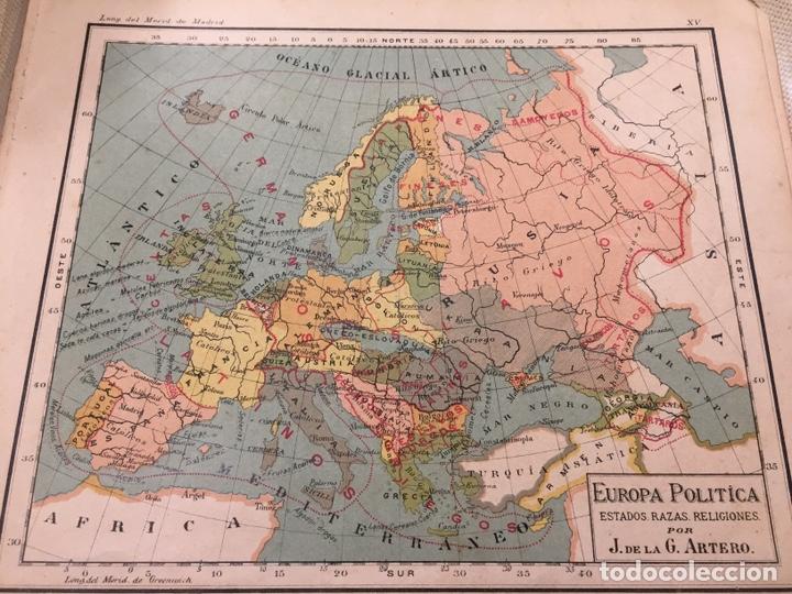 Mapa Europa Antiguo Ca 1920 Litografia Sold Through Direct