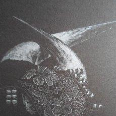 Arte: ROBERT RYAN (LOS ANGELES USA, 1944) LITOGRAFÍA 1986 DE 18X14 EN PAPEL 29X21CMS FIRMA LÁPIZ Y 60/1000. Lote 269321528