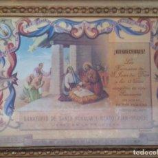 Arte: ESPECTACULAR LITOGRAFIA RECUERDO IV CENTENARIO SAN JUAN DE DIOS. Lote 137153298