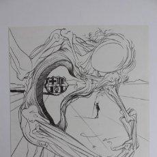 Arte: F.C. BARCELONA. GRABADO SALVADOR DALI PARA EL 75 ANIVERSARIO DEL CLUB. BARCELONA.2001.COPIA NUMERADA. Lote 138544774