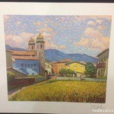 Arte: LES PRESES, PRECIOSA LITOGRAFIA DEL PINTOR SEBASTIÀ CONGOST, FIRMADA 1995. Lote 138777630