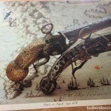 Arte: LITOGRAFÍA PISTOLES DE RIPOLL SIGLO XVII EDICIÓN 027/100. Lote 138936794