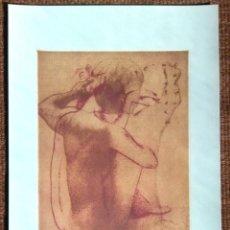 Arte: LITOGRAFIA TRAVER CALZADA. Lote 176883335