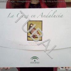 Arte: TUBAL CAZA CINEGETICA LA CAZA EN ANDALUCIA CARPETA CON 4 LAMINAS 800 GRS. Lote 139168798
