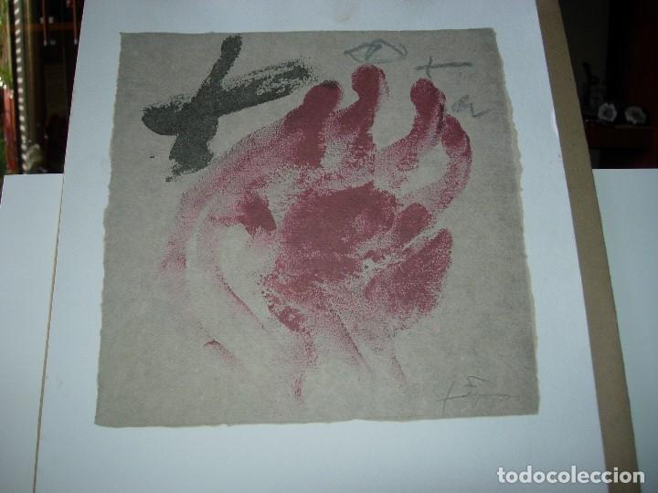 Arte: ANTONI TAPIES / TAPIES / ( VER FOTOS Y DESCRIPCION ) NOVIEMBRE 2007 - Foto 2 - 139697358