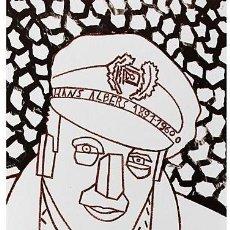 Arte: EDUARDO ARROYO HANS ALBERS (1891-1960) LITOGRAFÍA ORIGINAL FIRMADA Y NUMERADA A LÁPIZ 294/500. Lote 140428242