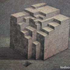 Arte: JOSEP Mª SUBIRACHS. LITOGRAFIA FIRMADA A PLANCHA G 469/1000. TITULADA ESTRUCTURA. Lote 140681122