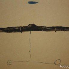 Arte: JOSEP Mª RIERA I ARAGO. LITOGRAFIA FIRMADA A PLANCHA E 544/1000. TITULADA SUBMARINO. Lote 140683258