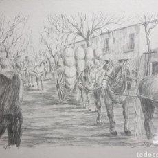 Arte: PAISAJE PASTORIL POR J BRICH GRAU. Lote 140734498